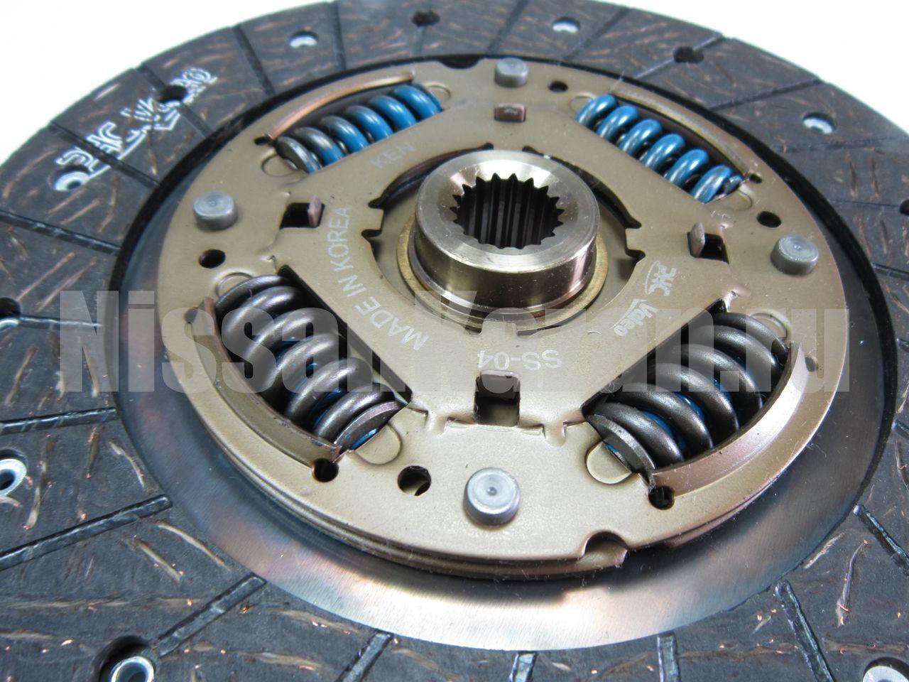 Самостоятельная замена сцепления Nissan Almera N16 58